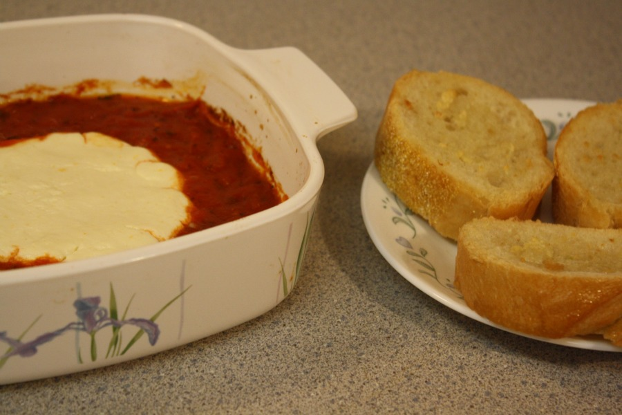 Goat Cheese Baked In Tomato Sauce Brave New Food